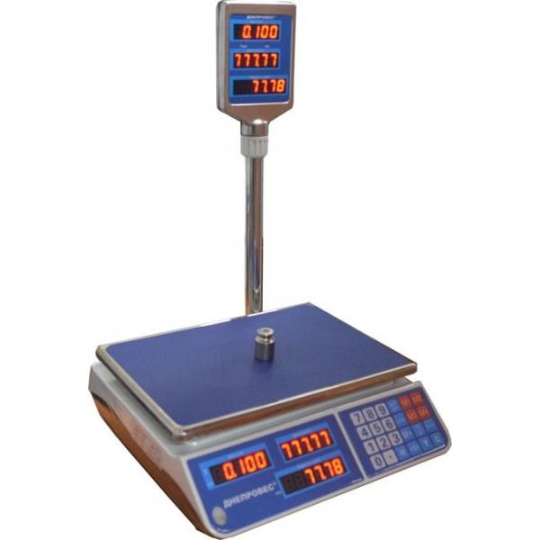 Весы торговые ДНЕПРОВЕС F902H-EL