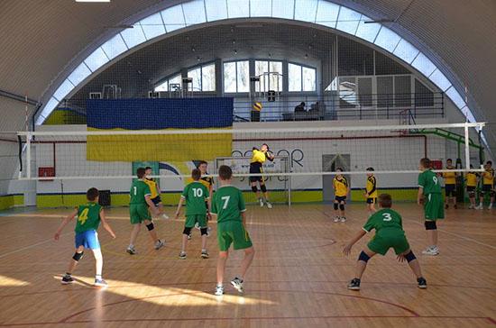 Фото волейбольного турнира в ФОК Первомайск